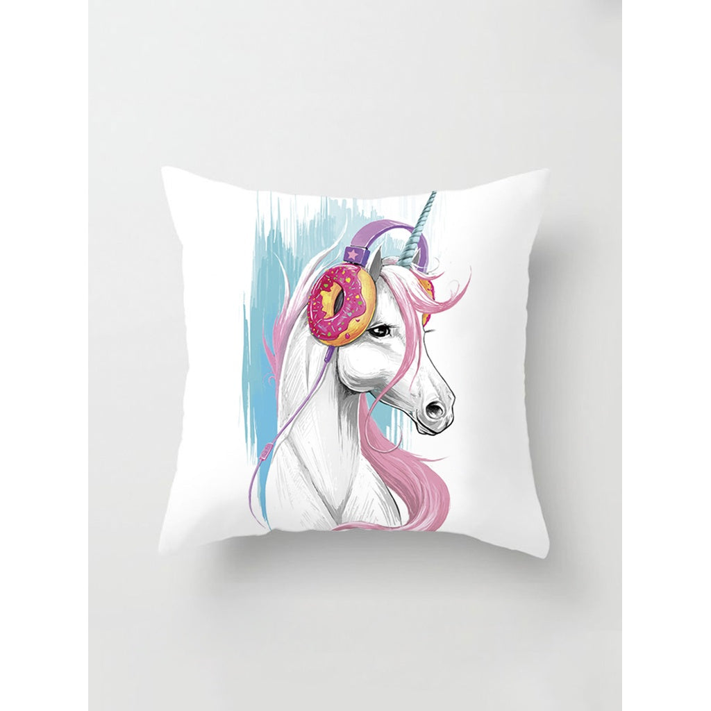 Cartoon Print Pillow Cover