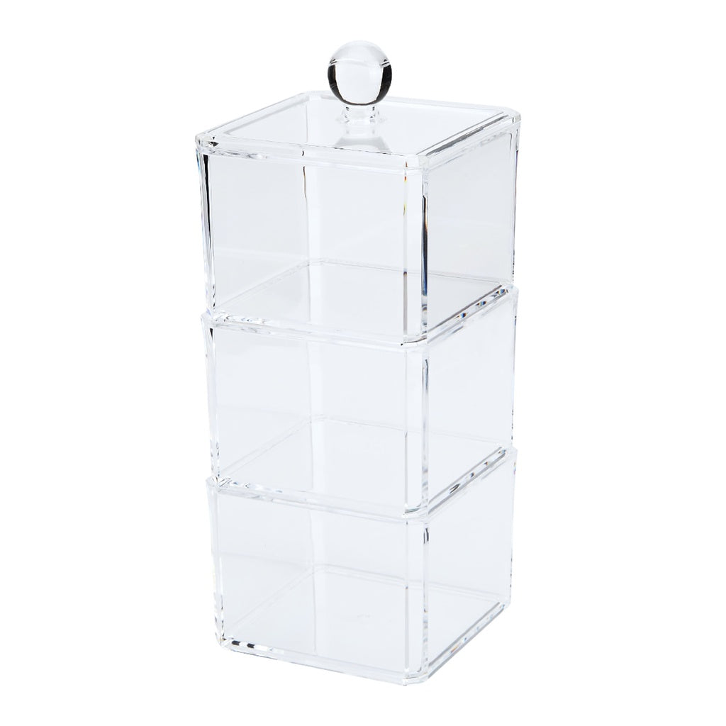 3 Layers Clear Professional Makeup Storage