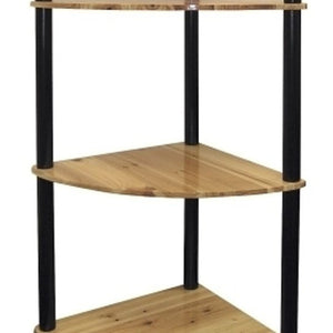 Ore International H-94 4-Tier Corner Bookshelf