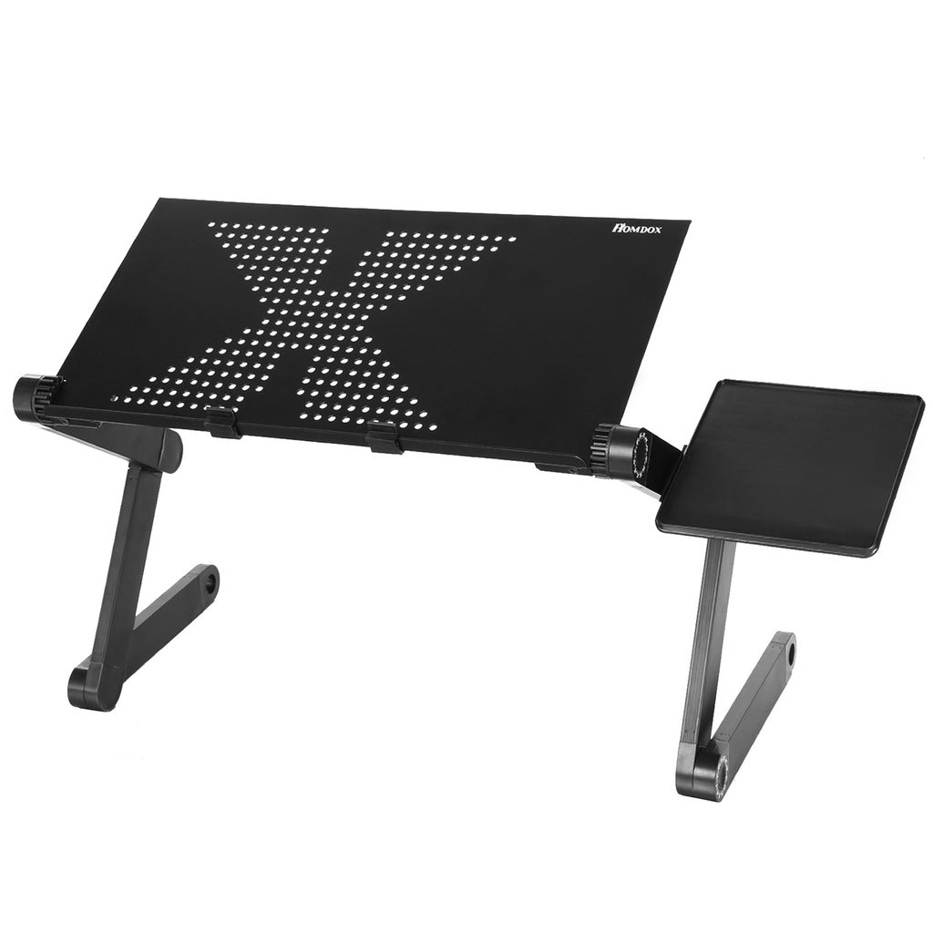 360°Adjustable foldable Laptop Notebook Desk Table Hole Stand Bed Tray