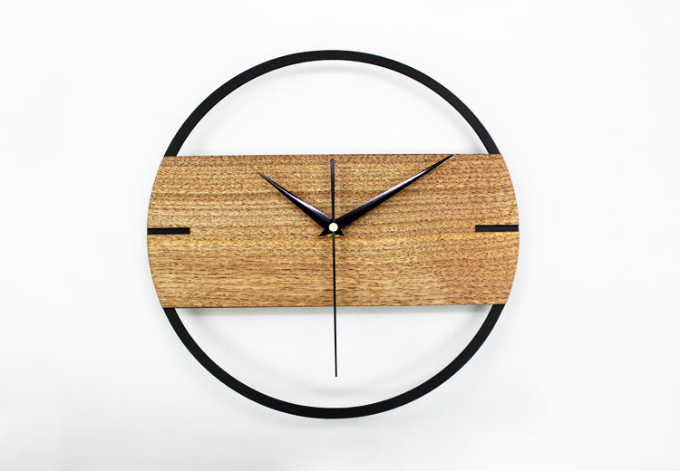 Modern Design Creative Wooden Clock