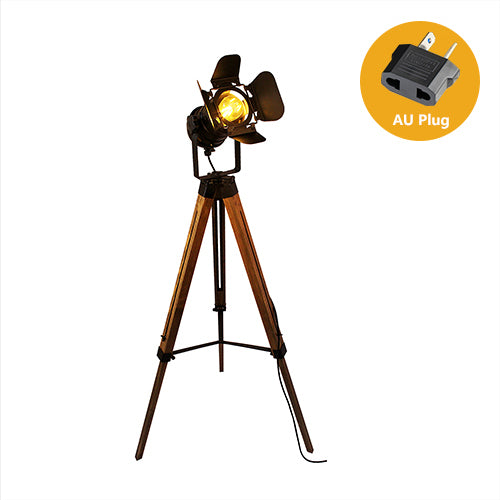 Vintage Tripod Stand Lamp Shade