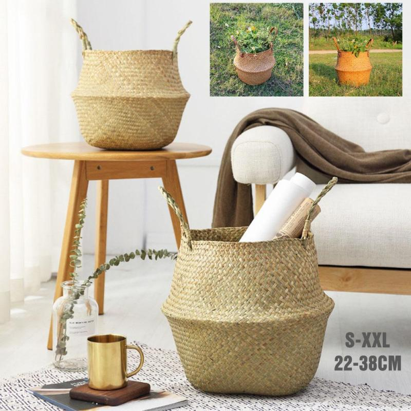 Seagrass Wickerwork Basket