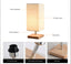 Modern Small Wooden Table Lamp