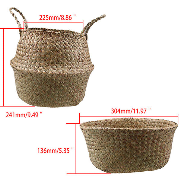 Seagrass Woven Basket