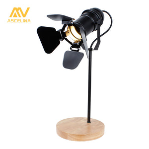 Vintage Theater Led Desk Lamp