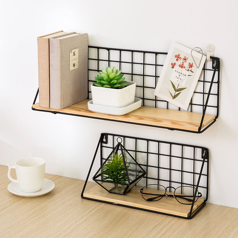 Wooden Iron Storage Holders