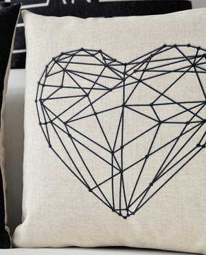 Cushion Cover Geometric Patterns