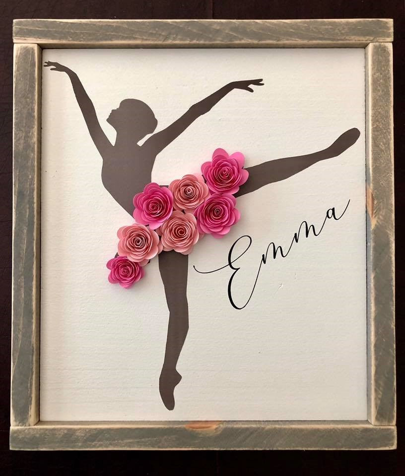 Ballerina Sign DIY Project Kit