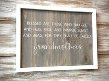 Grandmothers Quote Sign