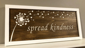 Spread Kindness Sign