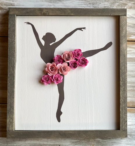 Ballerina sign- Arabesque pose