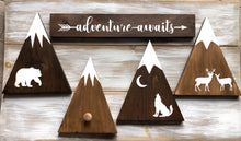Woodland themed Mountain sign sets