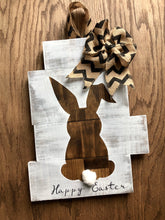 Rustic Easter bunny