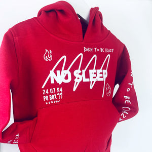 No sleep Hoodie Big Kids