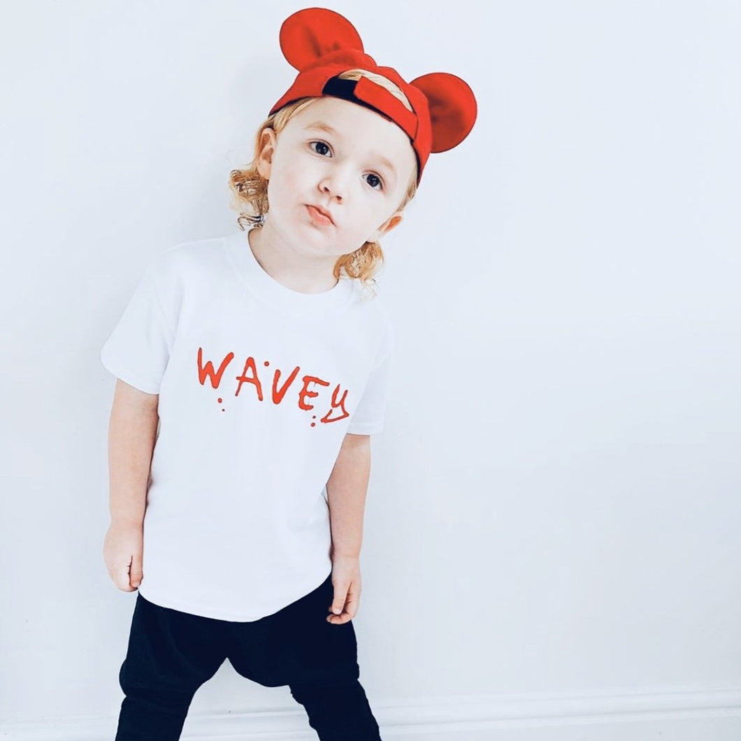 Wavey T Shirt Babies
