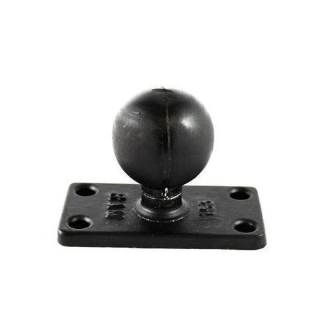 RAM C Size 1.5 inch Ball on Rectangular Plate (RAM-202U-153) - Image1