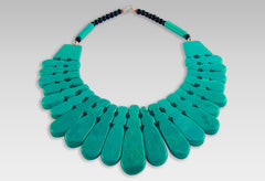 BluEarthJewelry.com - Egyptian Style Turquoise Necklace