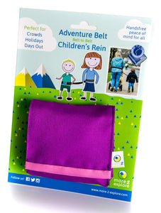Adventure Belt - Purple/Pink