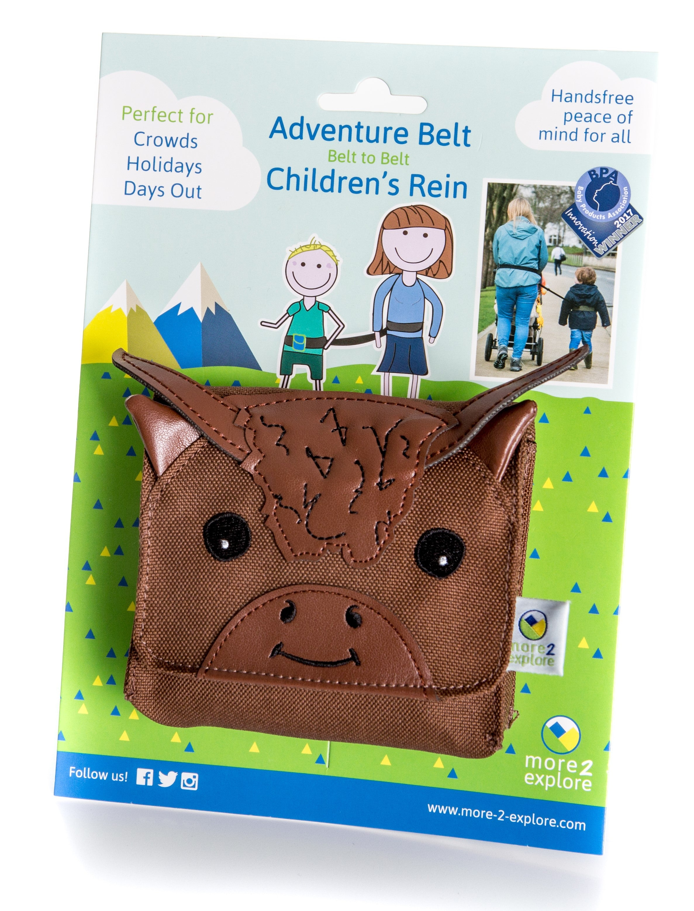 Adventure Belt - Highland Cow