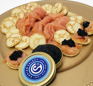 Scottish Smoked Salmon & Italian Caviar