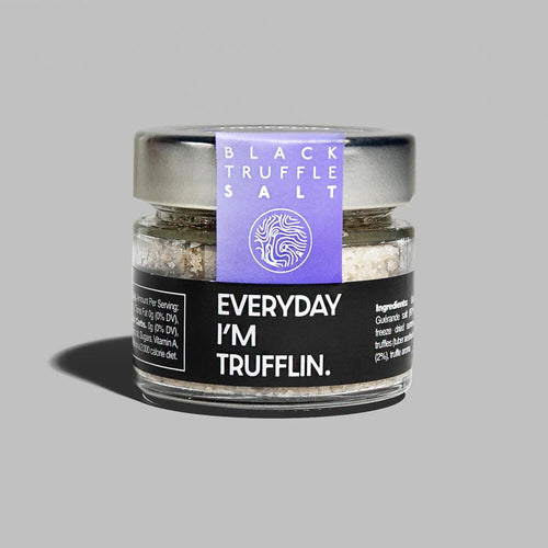 Gourmet Black Truffle Sea Salt