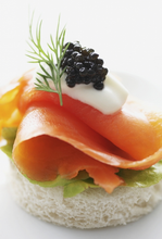 Load image into Gallery viewer, Scottish Smoked Salmon & Italian Caviar