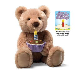 Gund Birthday Bear Feature Plush