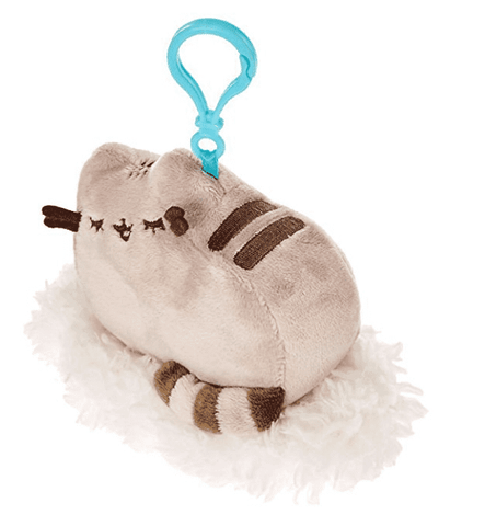 Claire's Girl's Pusheen Dreaming On a Cloud backpack Clip