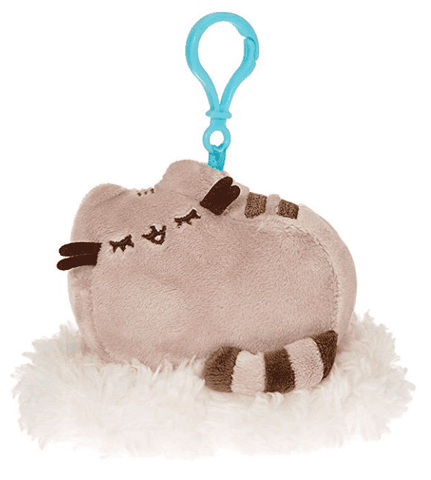 Claire's Girl's Pusheen Dreaming On a Cloud Keyring Clip