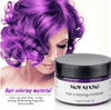 Image of Color Hair Wax Styling Pomade Silver Grandma Grey Temporary Hair Dye Disposable Fashion Molding Coloring Mud Cream