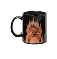 [HOT] Dragon Ball Z Son Goku Ceramic Heat Reactive Color Change Coffee Mug Cup