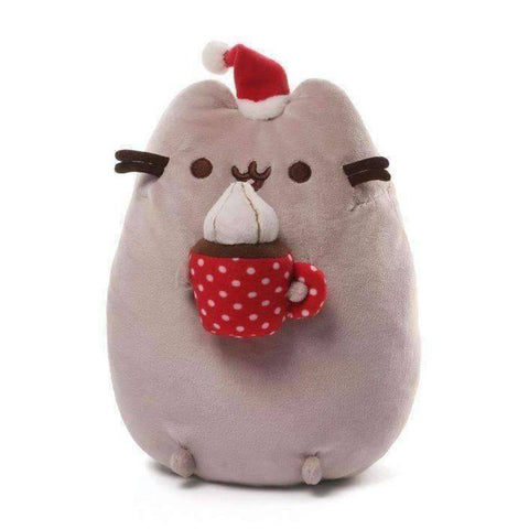 Gund Pusheen Christmas Snackable 10 Inches