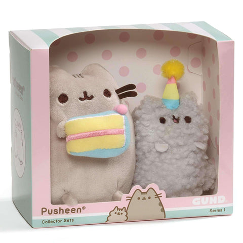 Gund Pusheen Birthday Collectible Set #1 8.5 Inches