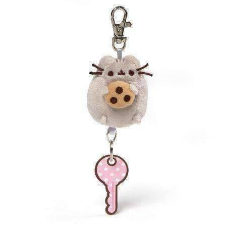 Gund Pusheen Retractable Keychain 2.5 Inches