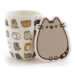 Gund Pusheen Kitties Mug With Coaster Kit 3.75 Inches