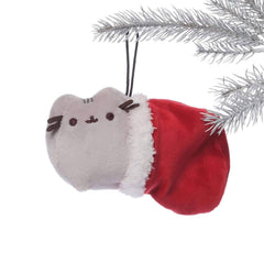GUND Pusheen Stocking Full Bodied Plush Stuffed Animal Special Christmas Holiday Ornament
