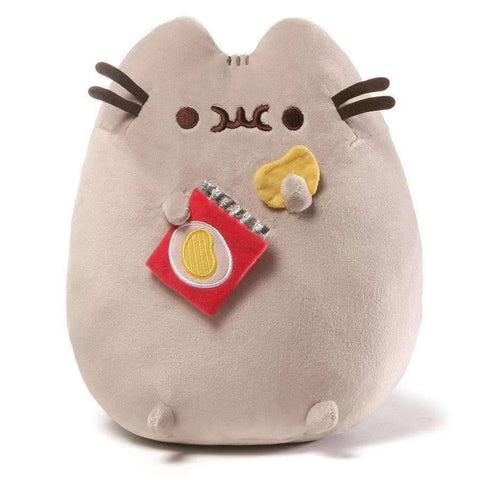 GUND Pusheen Snackable Potato Chips Stuffed Animal Cat Plush, 9.5""