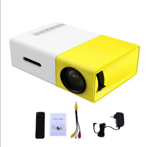 LED Portable Projector 500LM 3.5mm 320x240 HDMI USB Mini YG-300 Projector Home Media Player Projector