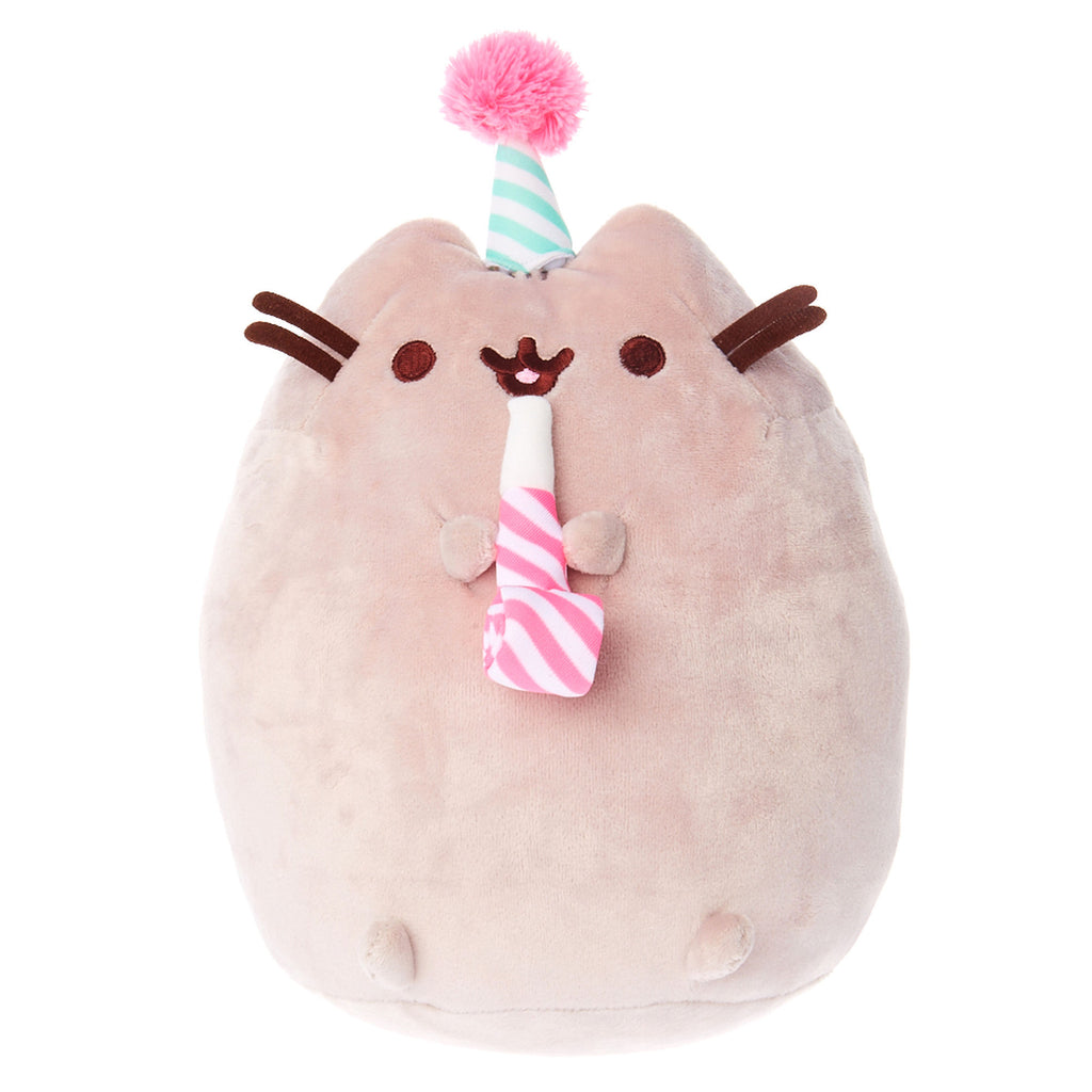 Pusheen Birthday Celebration Soft Toy Plush - Claire's Exclusive