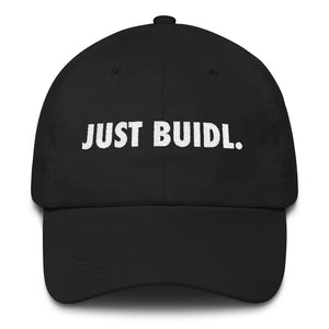 """JUST BUIDL."" - Cotton Cap"