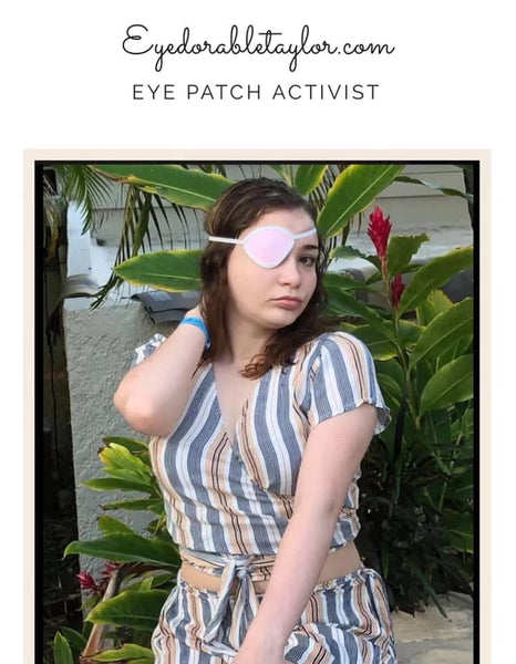 Eye-Dorable Taylor: Eyepatch Activist and Brain Tumor Survivor