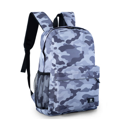 "Fenrici Recycled Laptop Backpack - 16"" -  -Gray Camo"