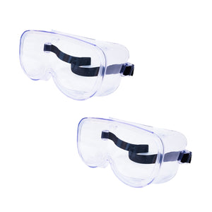 Safety Goggle Over Glasses, Anti Fog, Protection 1,2 or 5 packs available