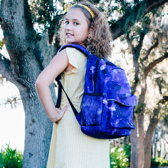 "Fenrici Recycled Laptop Backpack - 16"" - Galaxy Purple"