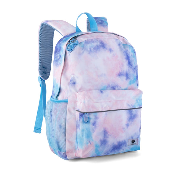 "Fenrici Recycled Laptop Backpack - 16"" - Pastel Tie Dye"