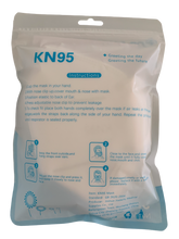 Load image into Gallery viewer, Disposable KN95 Face Masks, Non-Woven 5-Layer Disposable Mask 5 Units/Carton