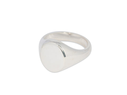 JGS Jewellery Signet Ring Round