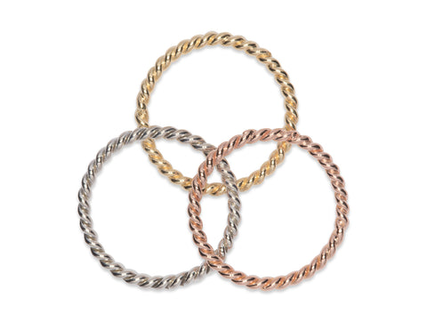 JGS Jewellery Twist Ring