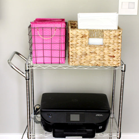 Printer Cart for Home Office - Elizabeth Rose Designs